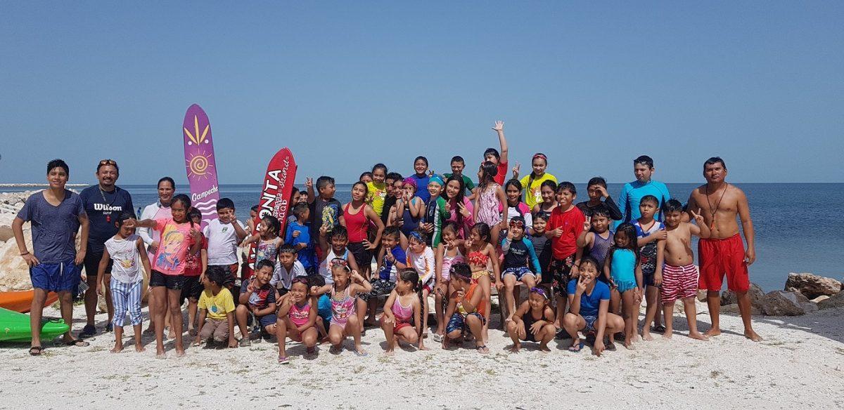Más de 200 niños participan en cursos de verano en playa bonita y complejos de isla arena e isla aguada