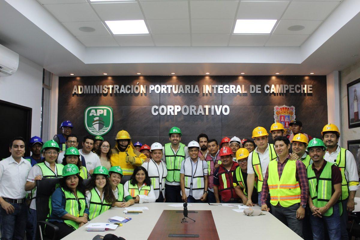 CAPACITAN EN TEMAS DE PROTECCIÓN CIVIL A LAS BRIGADAS DE LA APICAM, GERENCIA LERMA