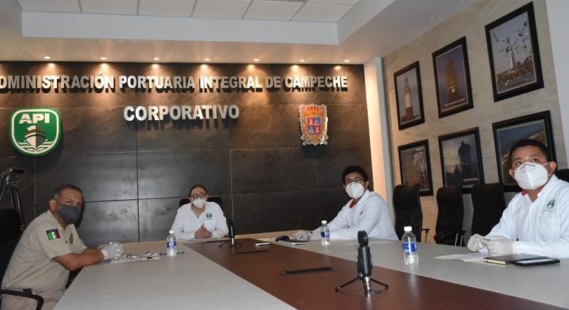 EFECTUARON REUNIÓN DEL COMITÉ DEL PUERTO DE LERMA