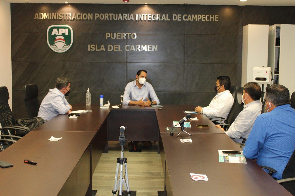 SECTOR PRIVADO, INTERESADO EN INVERTIR Y OPERAR EN PUERTO ISLA DEL CARMEN: APICAM